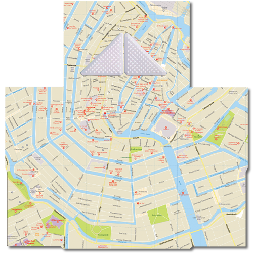 קססונית דגם אמסטרדם עם גריינדר