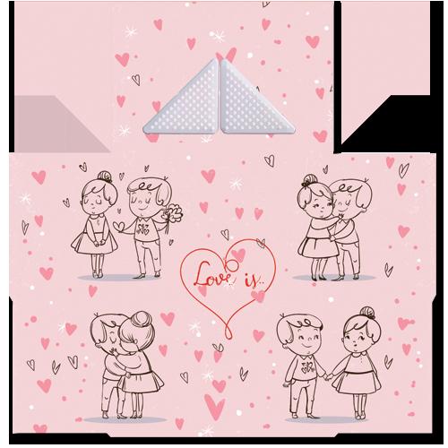 קססונית דגם Love עם גריינדר