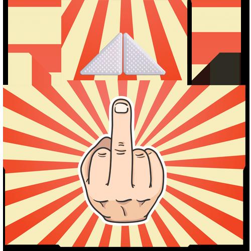 קססונית דגם אצבע משולשת עם גריינדר