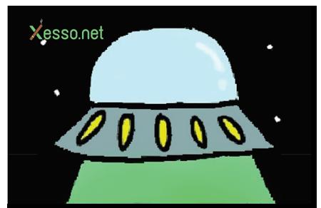 קססונית דגם space invasion - סגורה