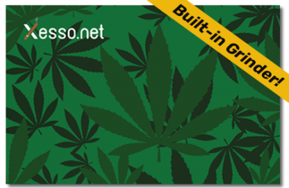Xesso.net Chill Green with built-in weed grinder