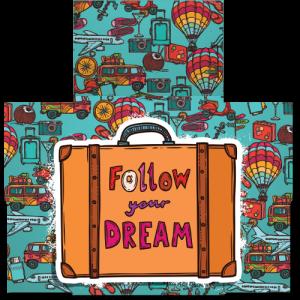 קססונית דגם Follow Your Dream - פתוחה