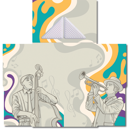 קססונית דגם ג'אז עם גריינדר