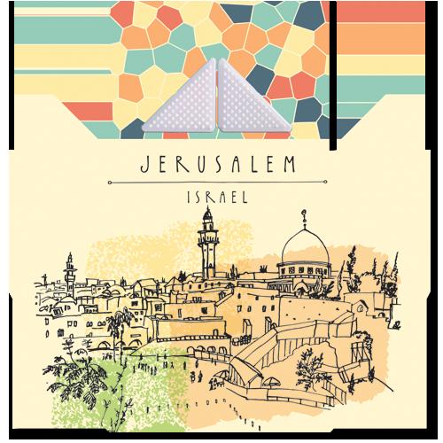 קססונית דגם ירושלים עם גריינדר