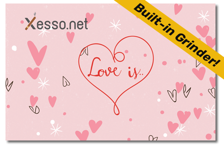 קססונית דגם Love- סגורה