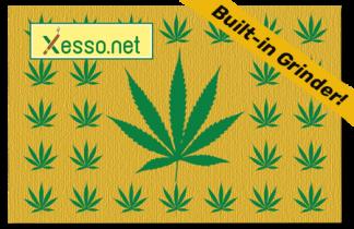 Xesso.net Rastaman with built-in weed grinder