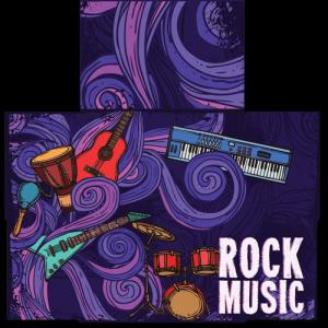 קססונית דגם Rock Music - פתוחה