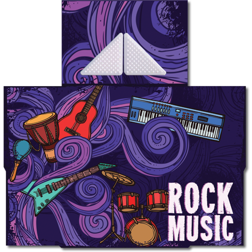 קססונית דגם Rock Music עם גריינדר