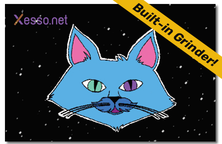 קססונית דגם חתול על-חלל - סגורה