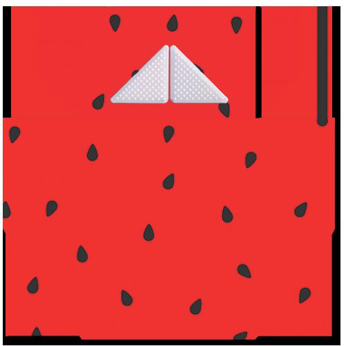 קססונית דגם אבטיח עם גריינדר