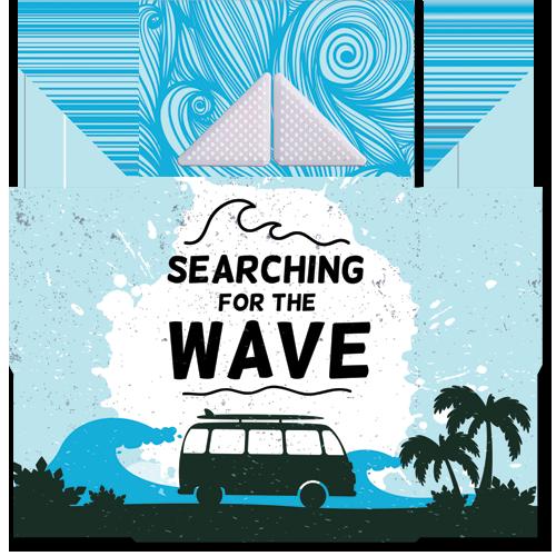 קססונית דגם Waves עם גריינדר