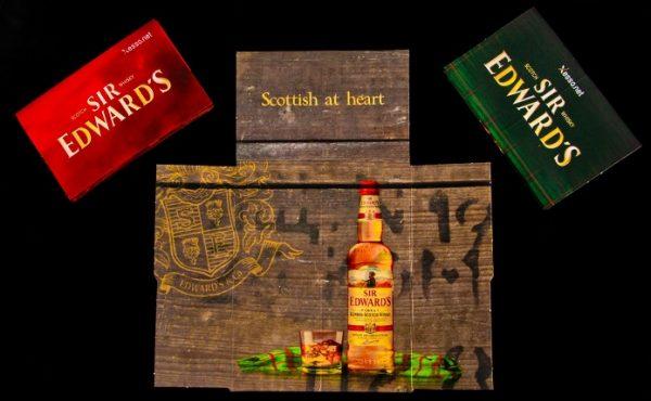 קססוניות בעיצוב אישי להשקה של וויסקי סר אדוארדס